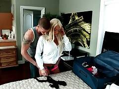 Diesel White comes to his girlfriend Lolly Ink, craving to fuck her.