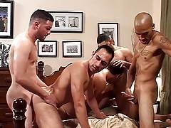 Michael, Dorian, Leo, Miguel and Diego